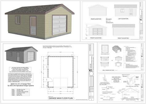 build house plans free free 18 x 22 garage plans http sdsplans com