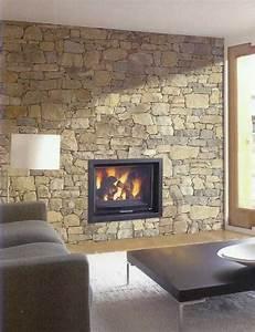 Cheminée Centrale Prix : cheminee centrale noire ~ Premium-room.com Idées de Décoration
