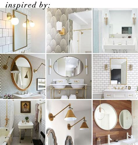 love lamp  brass wall sconces emily henderson