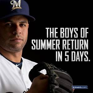 23 best #INSTAG... Milwaukee Brewer Quotes