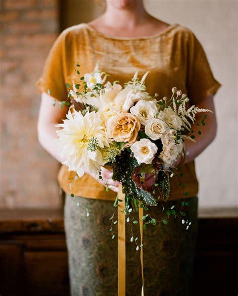 fall wedding flowers fall wedding flower ideas once wed