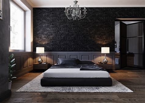 beautiful black bedrooms  images tips accessories    design