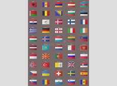 Old European Flags stock illustration Illustration of
