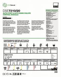 Deep Sea Controller Dse7320 Smartgen Generator Controller