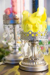 We, Love, This, Candle, Holder, From, Amalfi, Decor, Filled, With, Easter, Peeps, Such, A, Great, Diy, Easter
