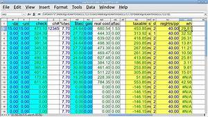 Free Software For Payroll In Excel Payroll Excel Spreadsheet Free Download With Excel