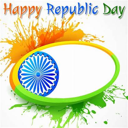 Frame Republic Celebration Indian Flag Happy 26th