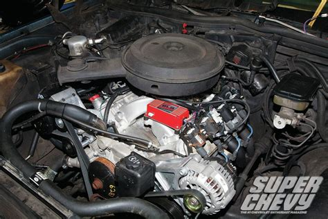 swap   carb equipped ls engine super chevy