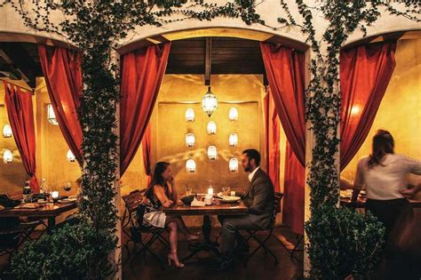 romantic restaurants  los angeles  la date night