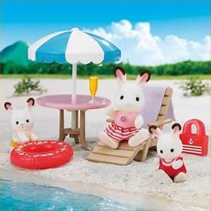 Sylvanian FamiliesCalico Critters Beach Set Se 178 EBay
