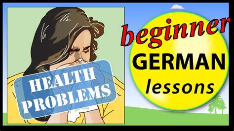 Illness In German  Beginner German Lessons For Children Youtube