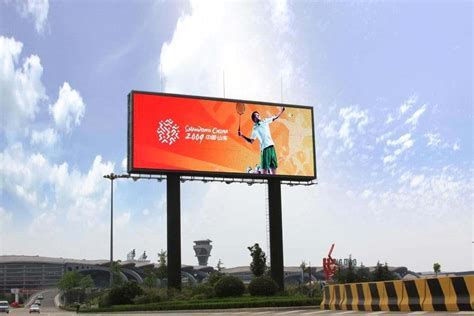 Outdoor advertising SMD LED display screen P10 P16   LED