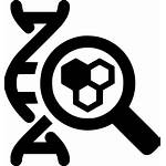 Dna Icon Cell Glass Magnifying Svg Icons