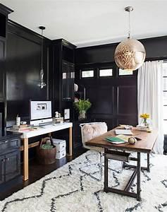 Home Office : 30 black and white home offices that leave you spellbound ~ Watch28wear.com Haus und Dekorationen