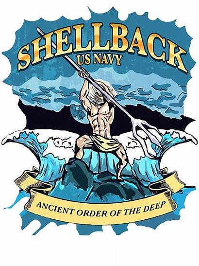Shellback Clipart Navy Order Deep Library Sweater