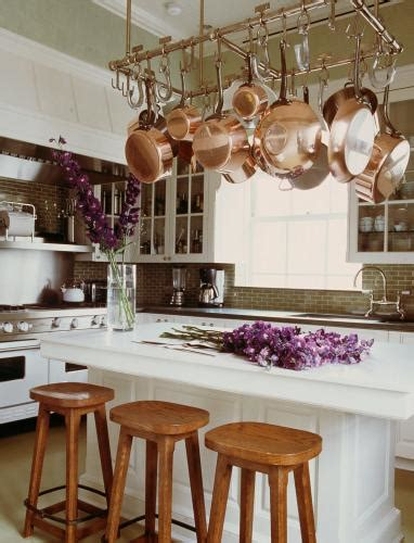 kitchen   week kitchens  pot racks