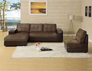 Cm6588 aspen sectional sofa in microfiber leatherette for Aspen sectional sofa with ottoman