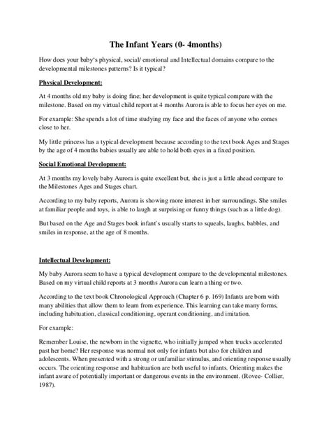 Child Development In Preschool Essay by Essays On Play And Child Development