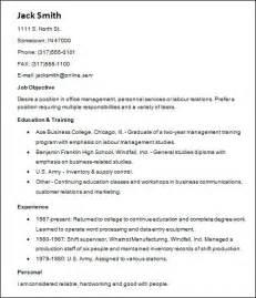 basic resume exles word document sle basic resume 21 documents in word