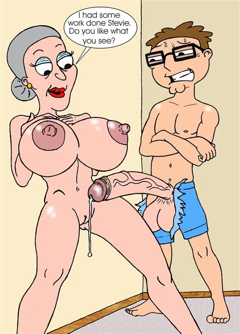 Rule 34 American Dad Breasts Female Gretchen Grossbard