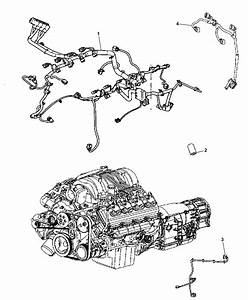 2006 Jeep Commander Wiring - Engine