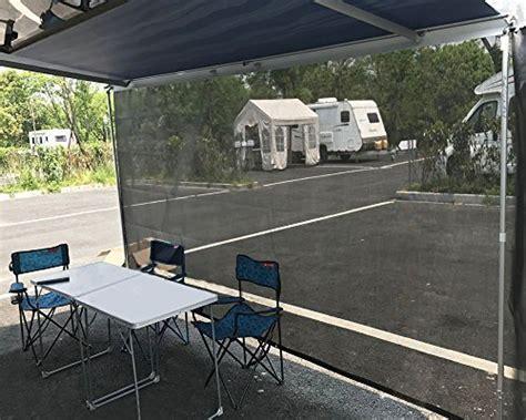 Tentproinc Rv Awning Sun Shade 6'x16' Black Mesh Screen