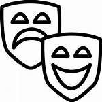 Drama Entertainment Mask Emotions Icon Icons Theater