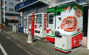 Japan's First Pizza Vending Machine Provides (Almost ...