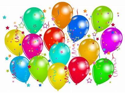 Balloons Clipart Decoration Party Balloon Transparent Birthday
