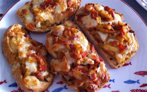 la cuisine pas chere recette tartine tomate courgette pas chère et simple