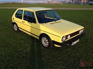 Golf Mk1 Gti : 1982 volkswagen golf gti yellow mk1 2 3 4 5 6 ~ Medecine-chirurgie-esthetiques.com Avis de Voitures