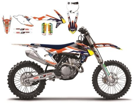 deco bras oscillant ktm kit d 233 co blackbird replica 2016 team ktm trophy ktm 125 sx 2016 crossmoto fr 29 08 2017