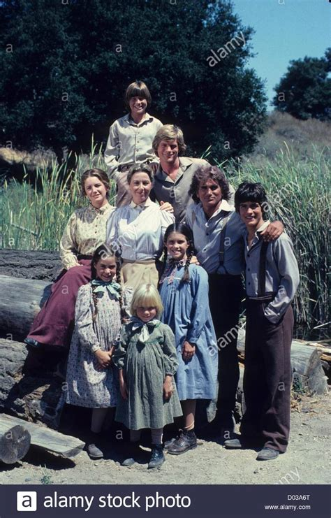 House On The Prairie Characters by Gilbert With The Cast Of House On The