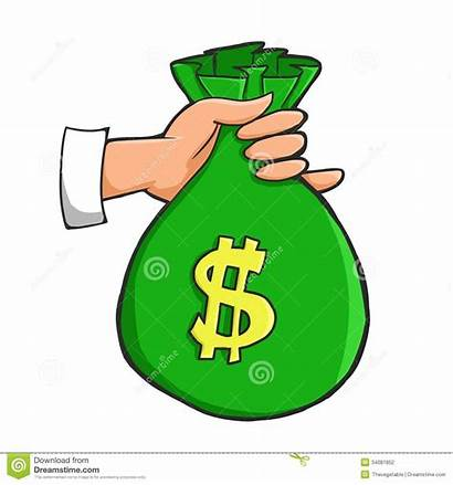 Money Bags Clipart Holding Sack Carrying Bag