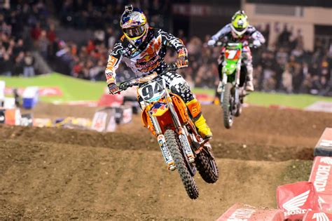 ama motocross 2014 results 2014 ama supercross anaheim 3 results motorcycle com news