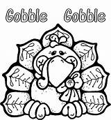 Coloring Mashed Potatoes Thanksgiving Turkey sketch template
