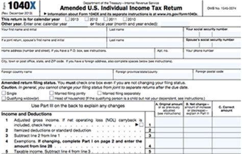 irs form to amend 2015 tax return file a 1040ez return or full 1040 see the difference e