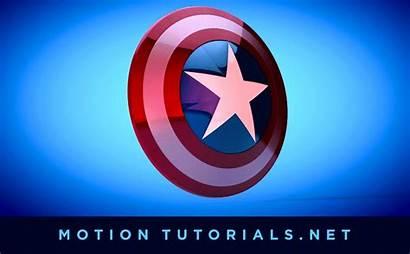 America Captain Shield Animated Giphy Cinema 4d