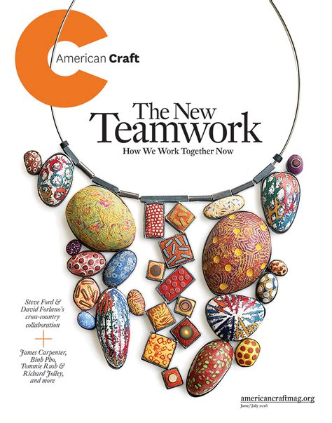 junejuly american craft council