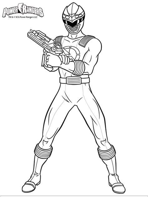 power rangers coloring pages   print power