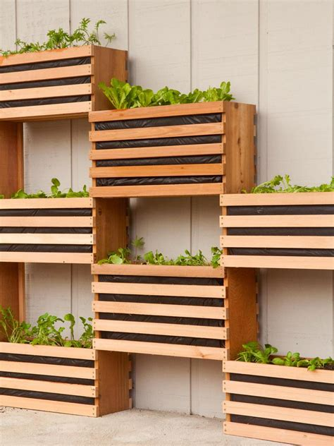 garden wall planter 10 vertical planter ideas for summer hgtv s decorating
