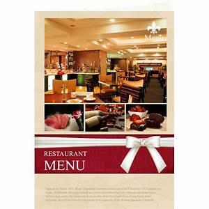 Menu templates samples menu maker publisher plus for Free restaurant menu templates for mac