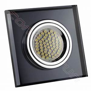 Led Spot 230v : led einbaustrahler spot glas alucristal einbauleuchte set gu5 3 12v gu10 230v 5 ebay ~ Watch28wear.com Haus und Dekorationen