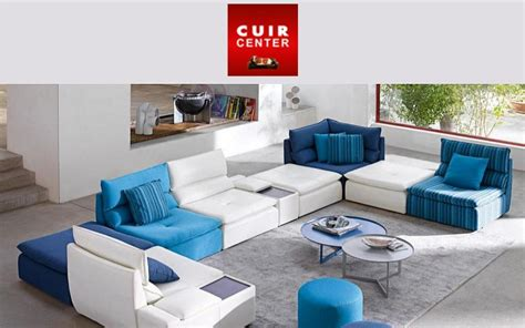 canap cuir center photos canapé modulable cuir center