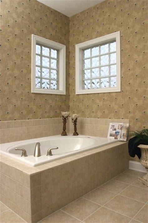 hand crafted glass block bathroom window  vinyl framed installation system  columbus glass