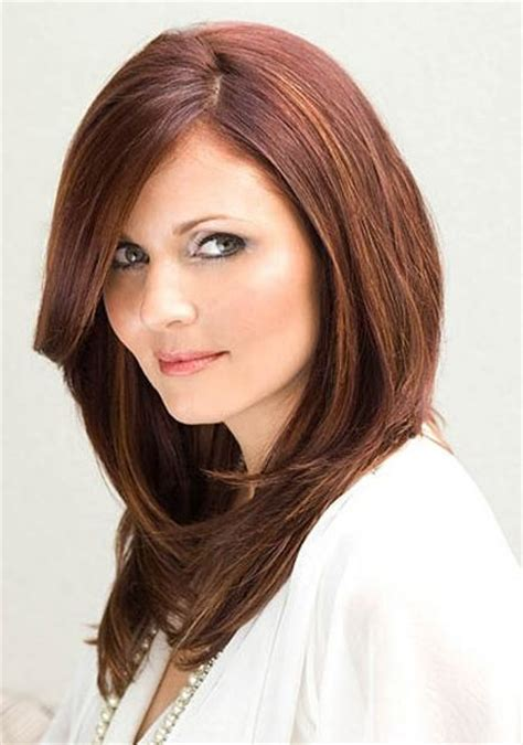 long layered haircut hairstyles   face