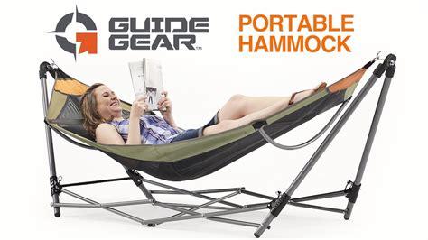 Folding Portable Hammock by Guide Gear Portable Folding Hammock