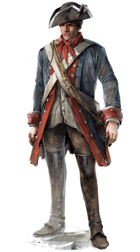 Assassins Creed Iii Art And Pictures Continental Soldier
