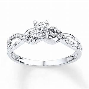 diamond rings under 150 diamond promise ring 1 4 ct tw With wedding rings under 150