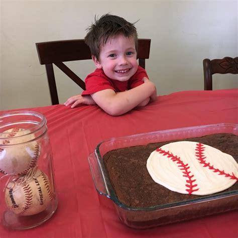 easy  simple baseball birthday party simply rebekah